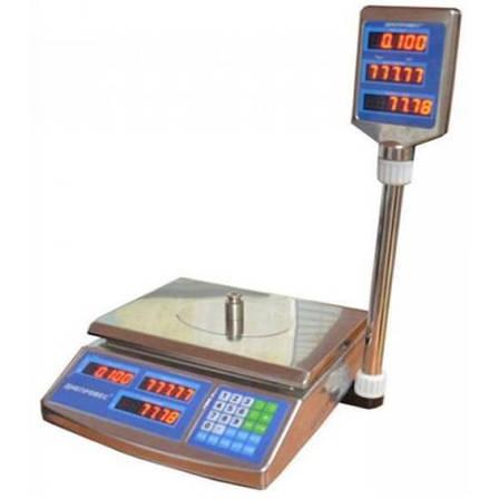 Весы торговые Днепровес F902H-6EDS (6 кг), фото 2