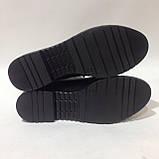 39 р. Жіночі шкіряні туфлі з ремінцем красиві модні Остання пара, фото 5