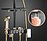 Душова система зовнішнього монтажу ZOSN з термостатом., фото 8