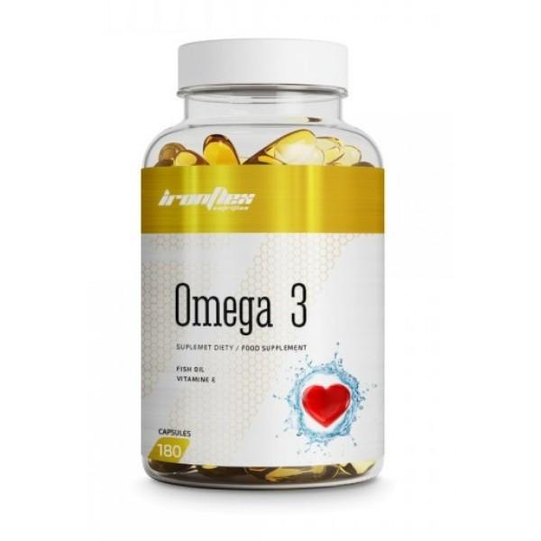 Жирные кислоты IronFlex OMEGA 3 1000mg 180 капсул