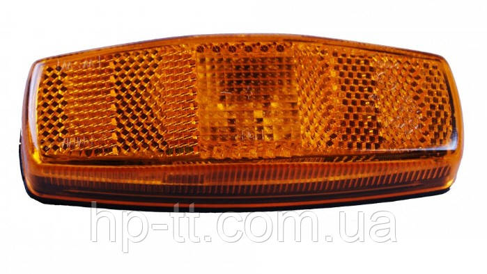Боковой оранжевый контурно-габаритный фонарь Jokon, с отражателем 100921