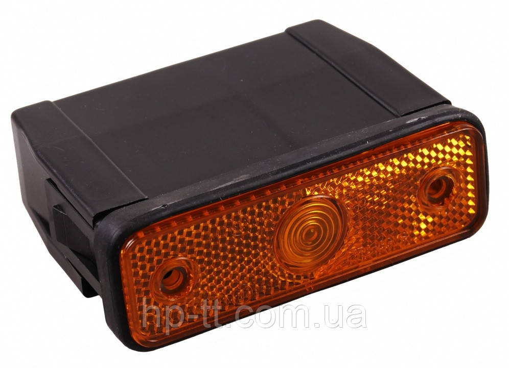 Боковой оранжевый контурно-габаритный фонарь с отражателем Aspock Sidepoint 10540