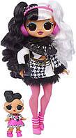 L.O.L. Surprise! Кукла Модная Dollie Fashion Doll & Sister O.M.G. Winter Disco оригинал