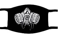 Защитная маска многоразовая с рисунком Распиратор с принтом ORIGINAL хлопок (Двухслойная)