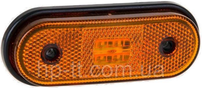 Фонарь габаритный Fristom FT-020 Z LED желтый с проводом