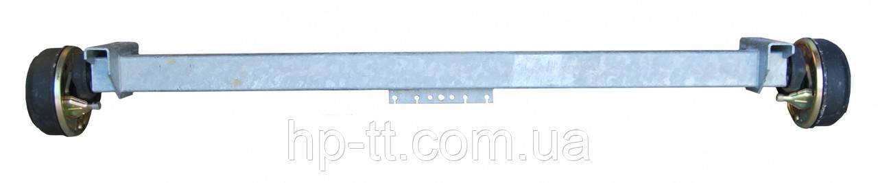 Тормозная ось Schlegl SB 14 1400 кг 11076
