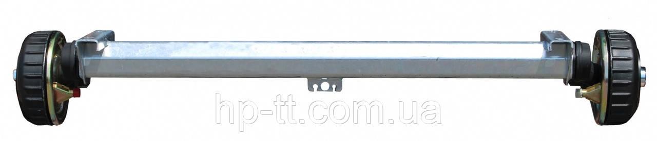 Ось торсионная с тормозом AL-KO 1000 кг 1700мм ступица 112х5 645257