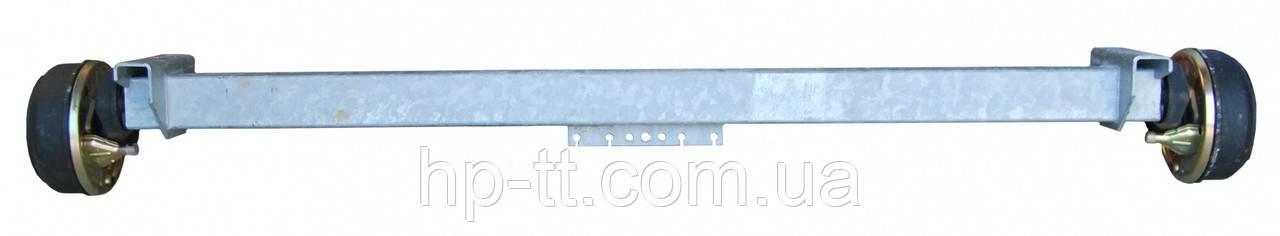 Тормозная ось Nieper GFA 1350, А1000 мм 15000