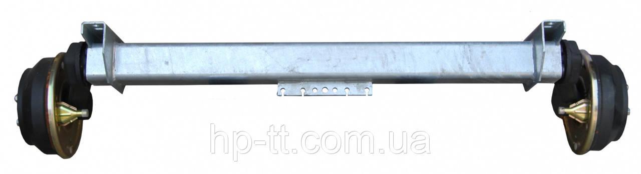 Тормозная ось Nieper GFA 1800 A1200mm 15021
