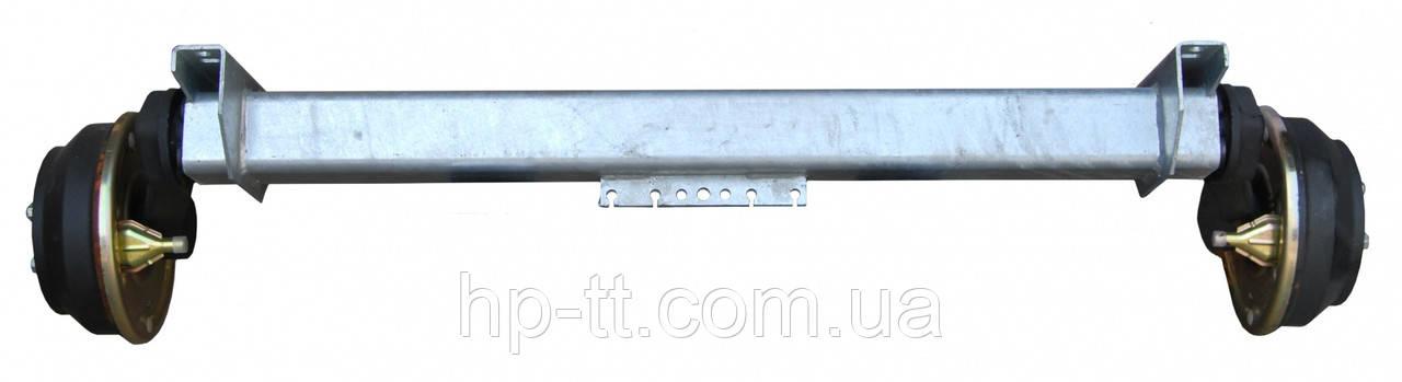Тормозная ось Nieper GFA 1800 A1400mm 15023