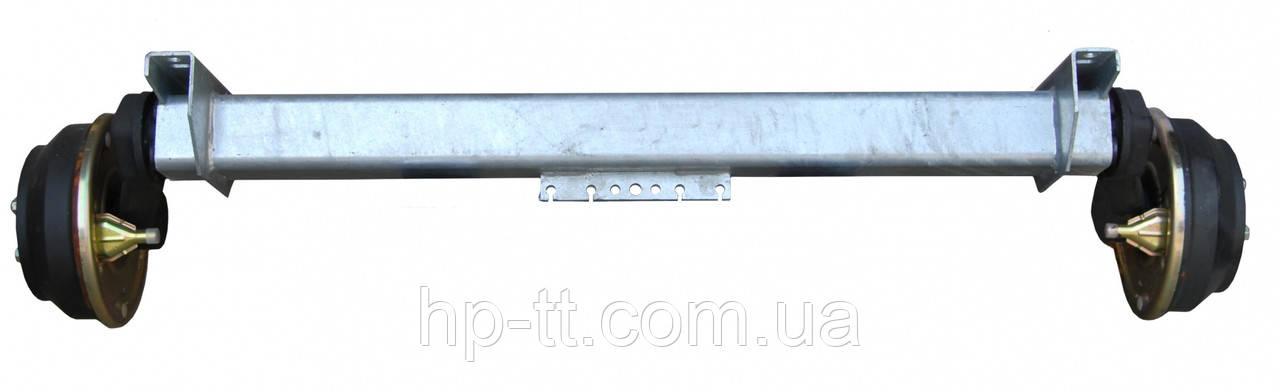 Тормозная ось Nieper GFA 1800 A1700mm 15026