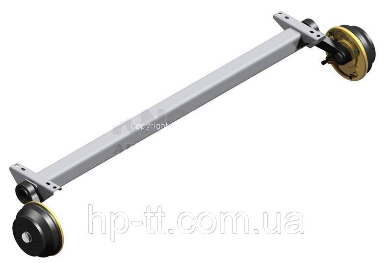 Ось Autoflex-Knott VGB 13-M 112*5 1800мм 6A9627.036