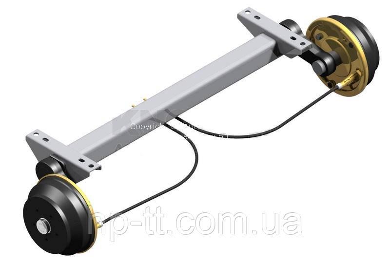 Ось Autoflex-Knott VGB 15-M 112*5 1800мм 6AA014.015