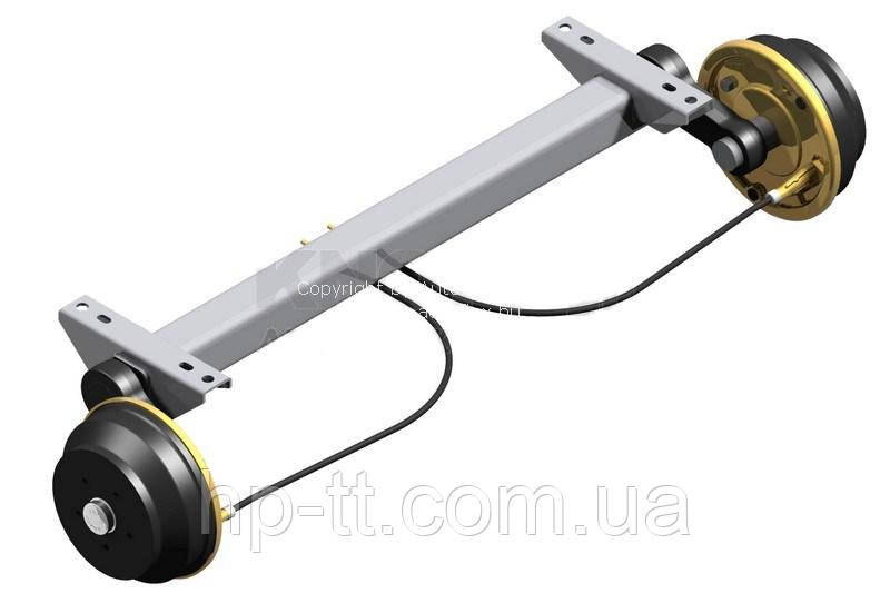Ось Autoflex-Knott VGB 18-MV 112*5 1800мм 6AA255.014-6A0509.014