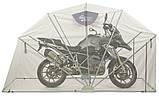 Сборный мини гараж ракушка для мотоцикла Acebikes Motor Shelter M 3020 х 1190 х 1700 8066, фото 2