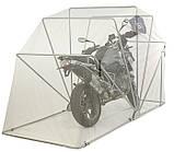 Сборный мини гараж ракушка для мотоцикла Acebikes Motor Shelter M 3020 х 1190 х 1700 8066, фото 3
