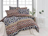 Двуспальный комплект постельного белья Бязь голд Barcelona 200х220 см. (100082_2.0LH)