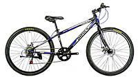Велосипед спортивный impuls 26 COLORADO ЧЁРНО-СИНИЙ, фото 1