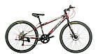 Велосипед спортивный impuls 26 COLORADO ЧЁРНО-СИНИЙ, фото 2