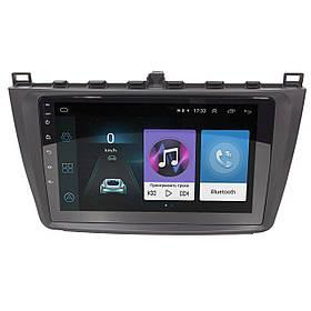 Штатная автомагнитола 9 дюймов для автомобилей Mazda 6 (2015-2019г.) Android 8.1 Go 1/16 Gb Wi Fi 4G GPS AM/FM