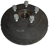 Тормозной барабан WAP 5x112 230x40 с подшипником 34/64х37 80102, фото 2