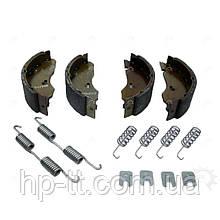 Комплект тормозных колодок AL-KO для колесного тормоза AL-KO 1635/1636/1637 160x35 1213888