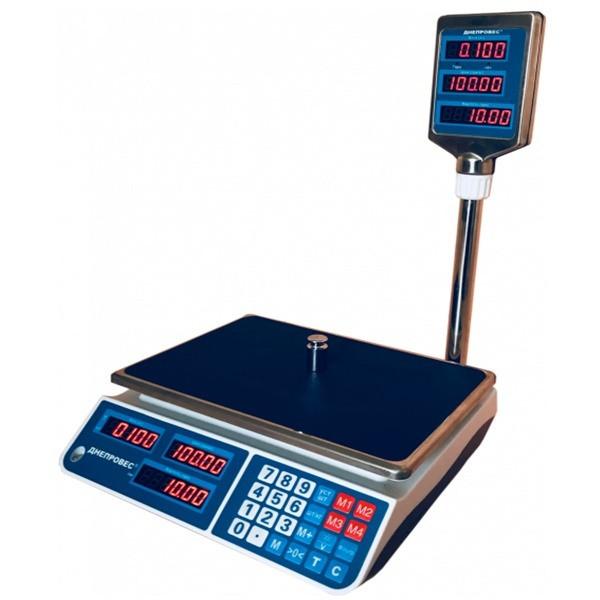 Весы торговые Днепровес ВТД-ЕЛ (3 кг)