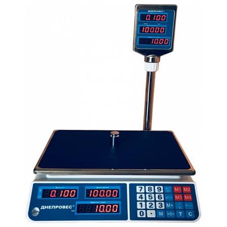 Весы торговые Днепровес ВТД-ЕЛ (3 кг), фото 2