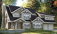 Каркасный дом - американский проект Верджиния 250кв.м.