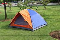 Палатка 3-х местная двухслойная 200 X 200 X 135 см