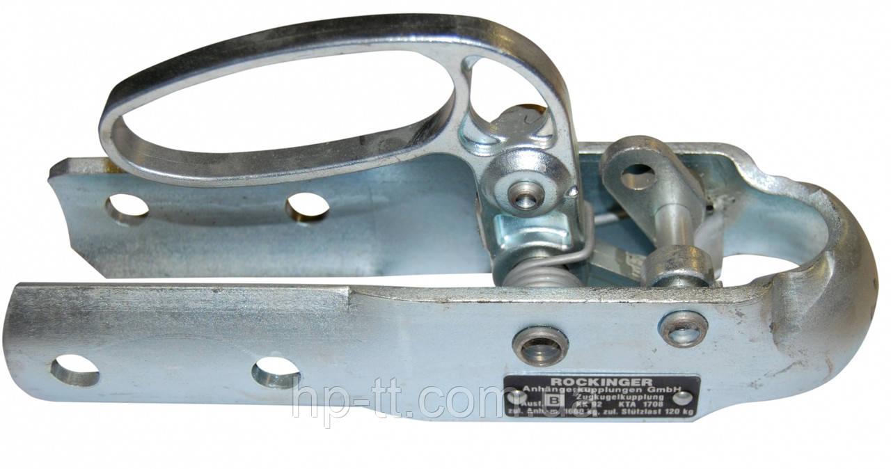 HP-trailer Зчіпний пристрій,KK 92 B, DDR, труба 60 mm, 1600 kg,H 54 mm,отвори 12,5 mm