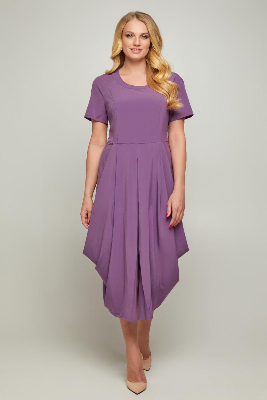 Нарядное платье-галифе Бьянка больших размеров 50-56