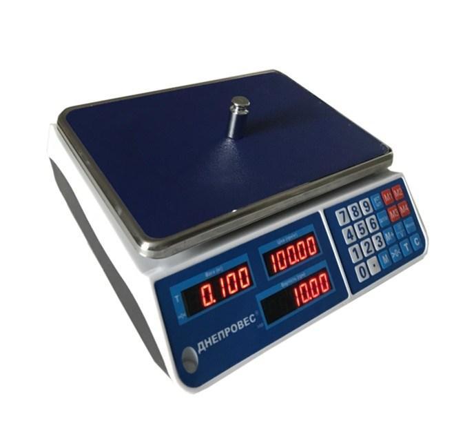 Весы торговые Днепровес ВТД-ЕЛ1 (6 кг)