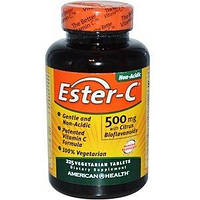 American Health, Ester-C with Citrus Bioflavonoids, 500 mg, 225 Tablets
