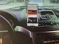 Автодержатель для телефона Wireless S5 Цвет Чёрно-Стальной