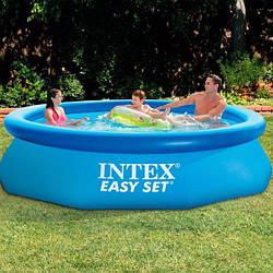Надувний басейн Intex 28122 305 см х 76 см з фільтруючим насосом