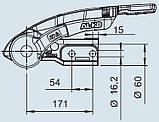 Зчіпний пристрій-стабілізатор AKS 3504, з замком і Safety Ball, фото 2