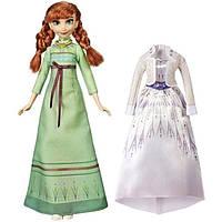 Disney Frozen 2 Холодное сердце 2 Арендель Анна со свадебным платьем E6908 Arendelle Fashions Anna Fashion Doll