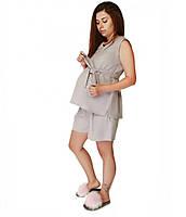Летний костюм для беременных и кормления грудью. С-М, фото 1