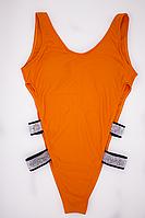 Купальник сдельный женский Lux4ika S Оранжевый (vol-291)