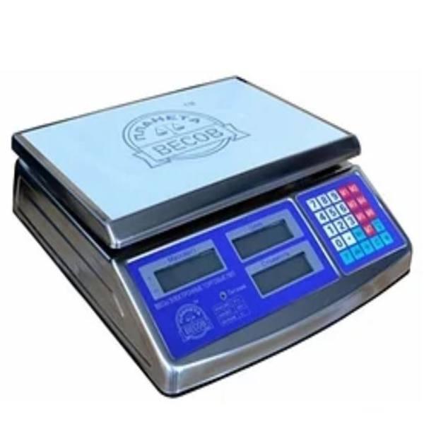 Весы настольные торговые электронные ПВП-701 (40 кг)