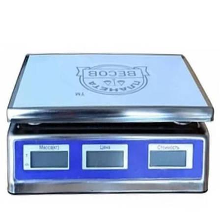 Весы настольные торговые электронные ПВП-701 (40 кг), фото 2