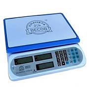 Весы торговые электронные ПВП-810 белые (40 кг)