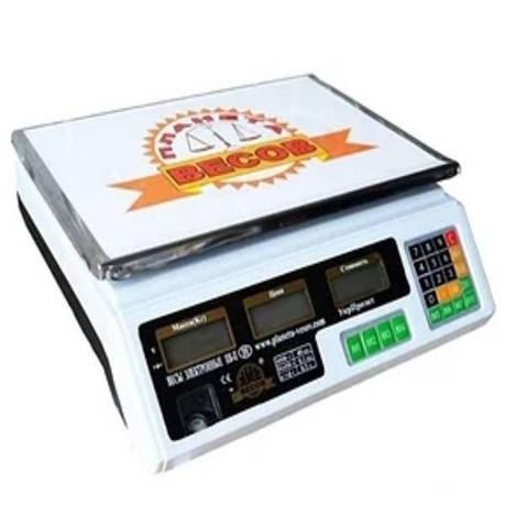 Весы торговые электронные ПВП-А9 (40 кг), фото 2