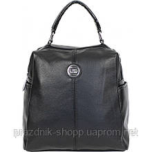 Сумка-рюкзак женская. Чёрный