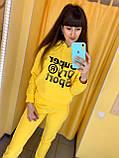 Fashion костюм Жін. L(р) жовтий 5972 Speedway Туреччина Весна-C, фото 3