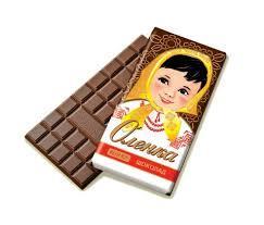 Шоколад Аленка Рошен