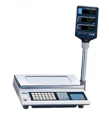 Ваги торгові CAS-AP-EX (15 кг), фото 2