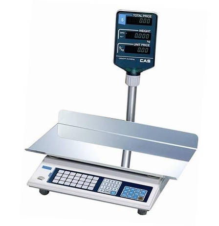 Ваги торгові CAS-AP-EX LT (30 кг), фото 2