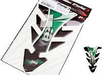 Наклейка на бак Puig Future Kawasaki зеленая